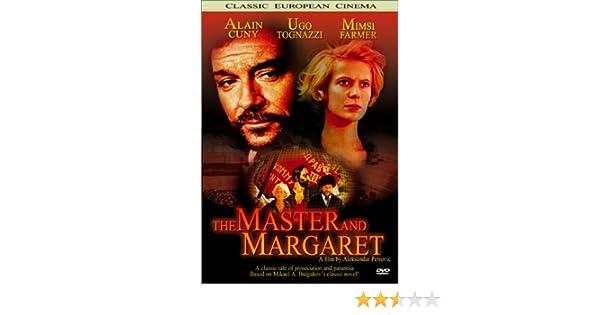 Amazon.com: The Master and Margaret (Il Maestro e Margherita): Ugo Tognazzi, Mimsy Farmer, Alain Cuny, Velimir Bata Zivojinovic, Pavle Vuisic, ...
