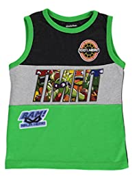 "TMNT Little Boys' Toddler ""100% Hero"" Tank Top"