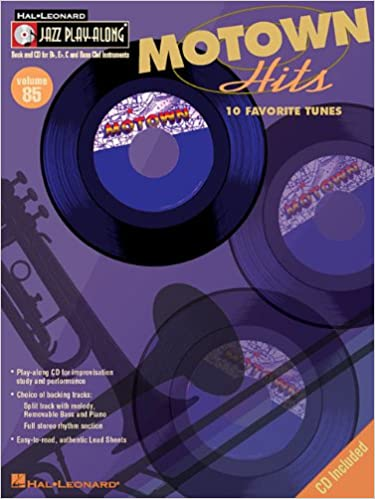 Book Jazz Play Along Volume 85 Motown Hits All Instrumentsbook/Cd (Hal Leonard Jazz Play-Along)