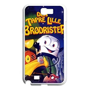 Brave Little Toaster Samsung Galaxy N2 7100 Cell Phone Case White AMS0707690
