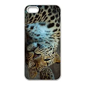 linJUN FENGThe Sleeping Leapord Hight Quality Plastic Case for Iphone 5s