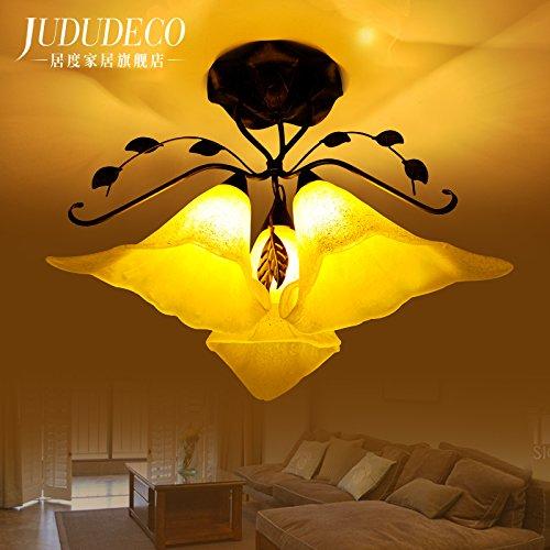 BLYC- Amerikanischen Wohnzimmer Lampe Decke Lampe Östliches Mittelmeer Raum Lampe warmer Beleuchtung Wohnzimmer Esszimmer Schlafzimmer Lampe Licht Kontinentales Europa Jane 530 * 450mm