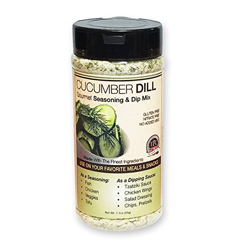 Gourmet Dip Mix Cucumber Dill Bulk Size, 11.5oz, by Pantry Club Rich Flavor for Dip Mixes, Seasoning, Sauces and adding to your favorite recipe!
