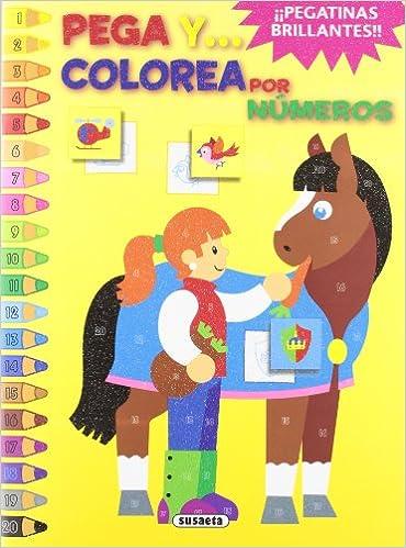 Buy Pega y colorea por numeros / Paste and color by numbers Book