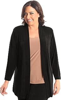 product image for Vikki Vi Women's Plus Size Kimono Jacket