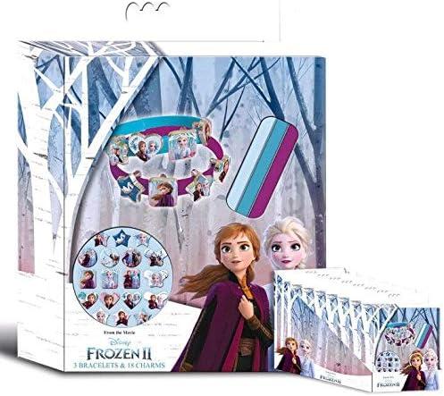 Disney Frozen- Caja 3 Pulseras 2, Multicolor (Kids WD20770 ...