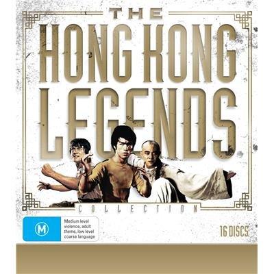 The Hong Kong Legends Collection 16-DVD Boxset ( Tang shan da xiong / Jing wu men / Si wang ta / Meng long guo jiang / Ging chaat goo si / Ging chaa [ NON-USA FORMAT, PAL, Reg.2.4 Import - Australia ]