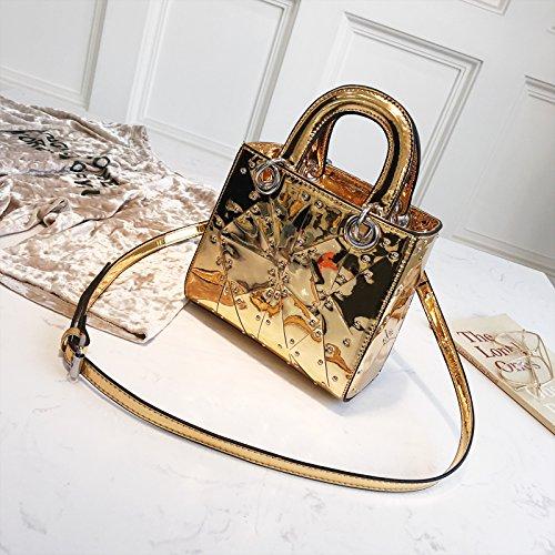nbsp;fourre WSLMHH Lady Bag Sac bandoulière Sac Fashion bandoulière Or à nbsp; Messenger Tout nbsp; à qqwzA1B