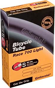 Continental Bicycle Tube, 650 x 18-25 - PRESTA Valve 36mm Light - 65g