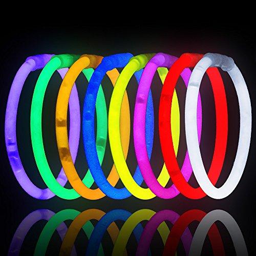 """300 8"""" Lumistick Brand Glow Light Stick Bracelets BULK WHOLE"""