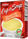 Lipton Cup A Soup, Cream of Chicken 2.4 oz (Pack of 12)