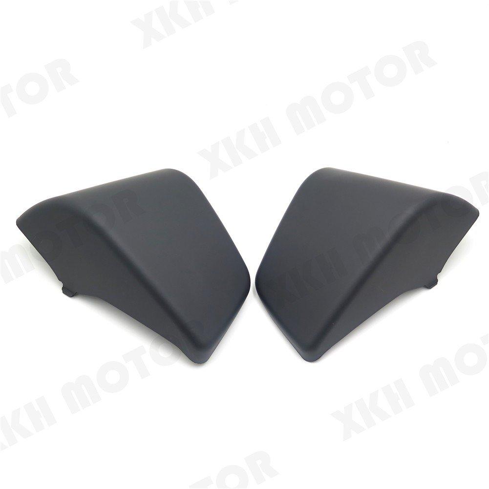 XKH MOTO- Black Battery Side Fairing Cover For Honda Shadow ACE 750 VT750 C D VT400 97-03 by XKH-MOTO (Image #8)