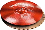 Paiste Colorsound 900 Sound Edge Hi Hat Cymbal Red 14 in. Pair