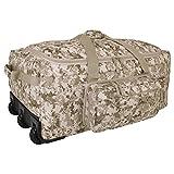 Mercury Tactical Gear Mini Monster Bag DDGC Rolling Duffel, Digital Desert Camo