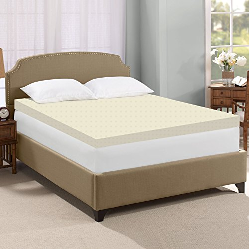 Greaton High Density Foam Topper-Adds Comfort to Mattress, Full, Size by Greaton
