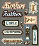 K&Company Family Names Sticker Medley