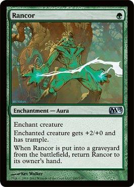 (Magic: the Gathering - Rancor (185) - Magic 2013)