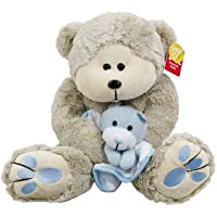 Baby Toys Teddy Bear with Baby Gift Ideas Soft Toys Teddy Bear with Baby for all ages Great for Baby Nursery Décor Toddler Play New Mums & Dads love them