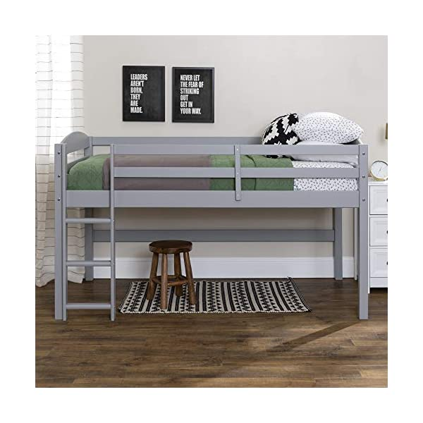 WE Furniture AZWSTOLLGY Loft Bed 2