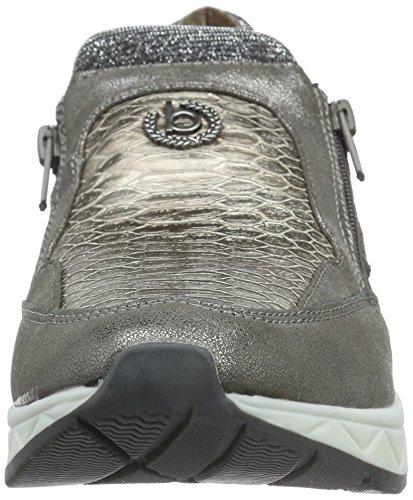 Bugatti J8363pr6n - Zapatillas Mujer Grau (taupe 182)