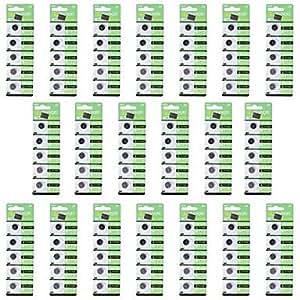 ZRW Tianqiu hotsale cr1220 3v pila de botón de litio de la batería - plata (20 packs/100 pcs)