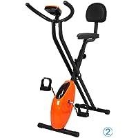 Bicicleta estática plegable Lluo ajustable para interior y exterior. Entrenamiento y ejercicio en casa