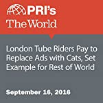 London Tube Riders Pay to Replace Ads with Cats, Set Example for Rest of World | Leo Hornak,Lizzy Tomei