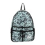 margaritaville beach bag - Margaritaville Womens Girls Lightweight Convertible Nylon Pouch Bag Backpack Floral Dark Blue
