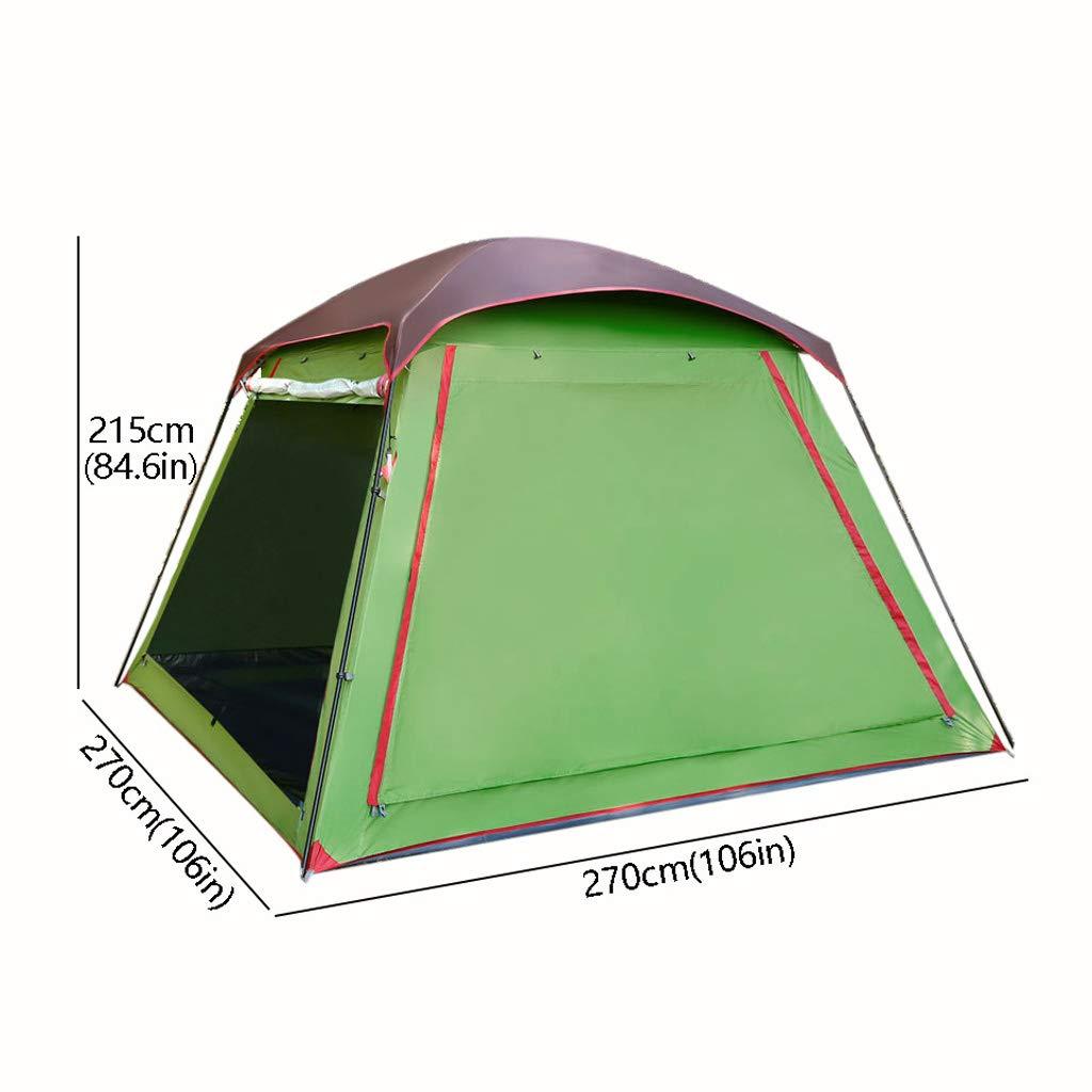 L L L tent 5-8 Personen Family Camping Zelt,Eine TüR DREI Fenster -Maschengarn und Foyer Design,Wasserabweisend & UV-Schutz Sonnenschutz,füR Strand Camping Wandern B07NJJY1WM Kuppelzelte Primäre Qualität 1b6c2a