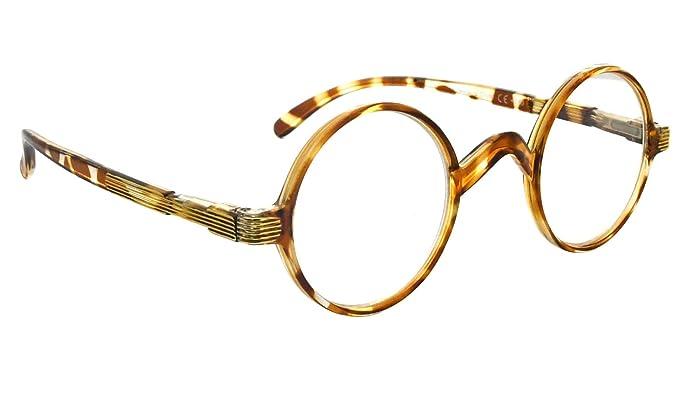 1920s Accessories: Feather Boas, Cigarette Holders, Flasks Vintage Round Reading Glasses Professor Readers $11.00 AT vintagedancer.com