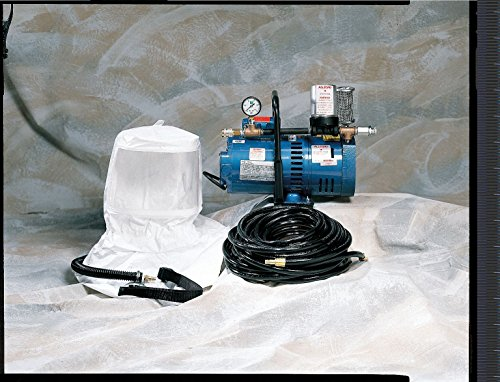 Supplied Air Pump Package, 1-1/2 HP, People Served: 2, Headgear Included: - Pump Air Package Supplied