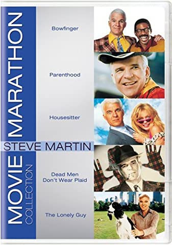 Movie Marathon Collection: Steve Martin (Bowfinger / Parenthood / Housesitter / Dead Men Don't Wear Plaid / The Lonely (Martin Lawrence Comedy Dvd)