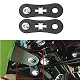 POMAR Black 1.5'' Gas Tank Lift Kit for Harley Sportster Irons XL883/1200 48 1995-2017