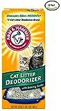 ARM & HAMMER Cat Litter Deodorizer Powder 20oz-12 Pack