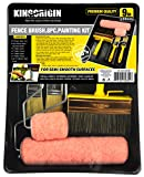 Premium 8 piece Multi use 9 inch Speed Painting kit, paint rollers,roller, paint brushes,5.5 inch wall paint brushes,paint kit,stain brushes,1.5inch SRT paint brush,tool kit,home tool kit,tool sets