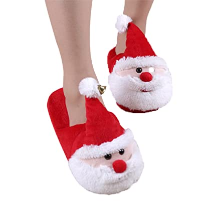 918f3967f6c Amazon.com   Outgeek Christmas Slippers