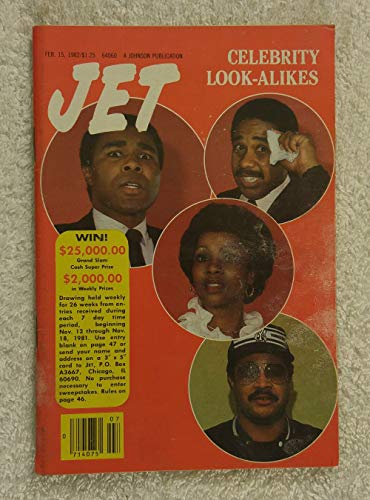 Celebrity look alikes - Jet Magazine - February 15, 1982 (The Best Celebrity Look Alikes)