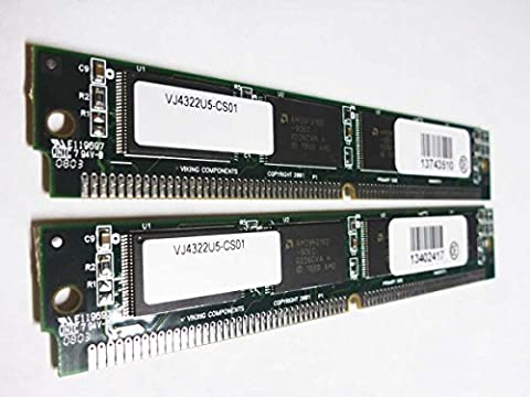 Cisco 32MB (2x16MB) 3600 Router Approved Flash SIMM Memory (p/n MEM3600-2x16FS) - 32 Mb Approved Memory