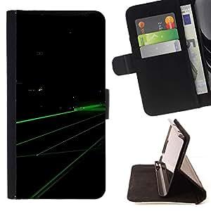 For MOTOROLA MOTO X PLAY XT1562 Case , Verde Digital- la tarjeta de Crédito Slots PU Funda de cuero Monedero caso cubierta de piel