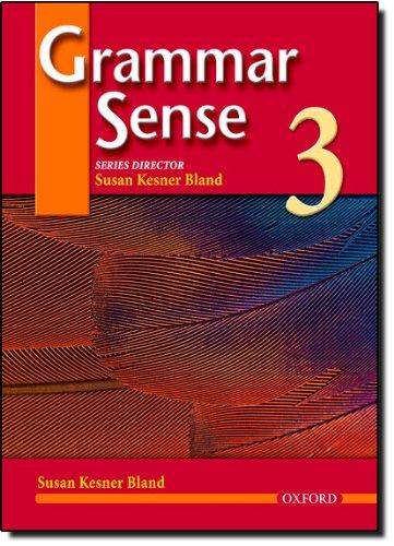 Grammar Sense 3, Student Book