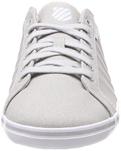 03015 T Gray K White Gull 413 024 Swiss Low Grigio M White Uomo top 5vHI1Hq