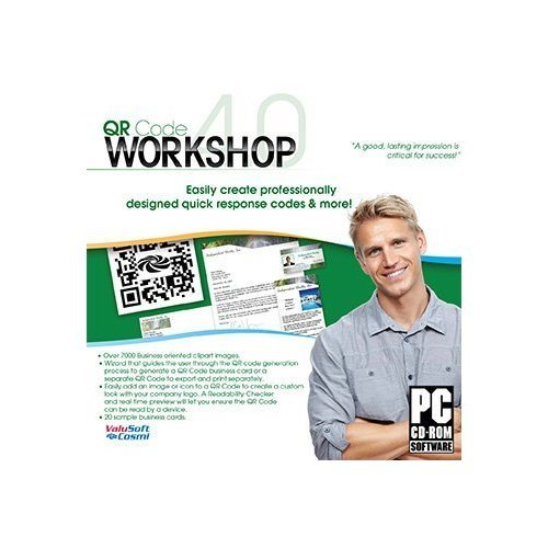 qr code workshop pc software business card program - Quick Response Code Business Card