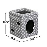 Cat Cube Cozy Cat House / Cat Condo in