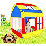 Piglootm Pop-Up Play Tent House For Kids Indoor & Outdoor Play House - Multi Color