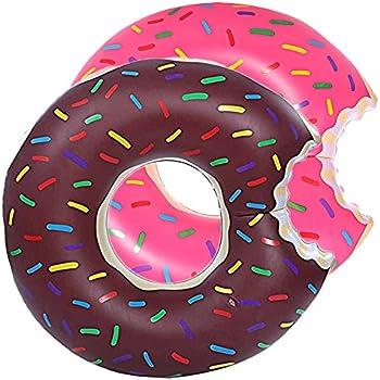 DMAR 60 cm Pool Floats Inflatable Donut Pool Float Swim Rings Single for Kids(1pcs)