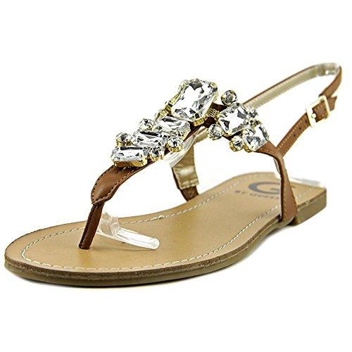 G by GUESS - Sandalias de vestir para mujer marrón claro