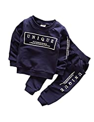 PanDaDa Baby Boys Autumn Tracksuit Long Sleeve T Shirt Pant Casual Clothes