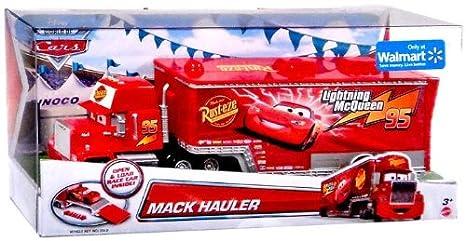 Disney Pixar Cars Exclusive Die Cast Vehicle Mack Hauler 1 55 Scale