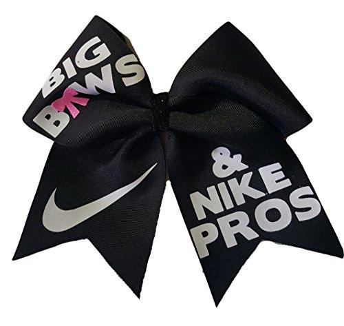 cheer-bows-black-big-bows-nike-hair-pros-hair-bow