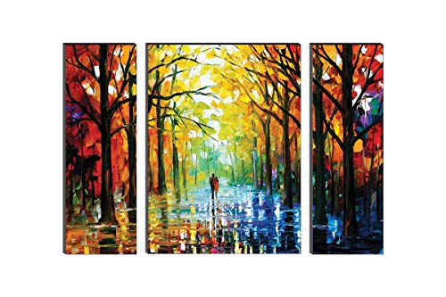 Watercolor Modern Art Synthetic SAF Painting For Home Decoration